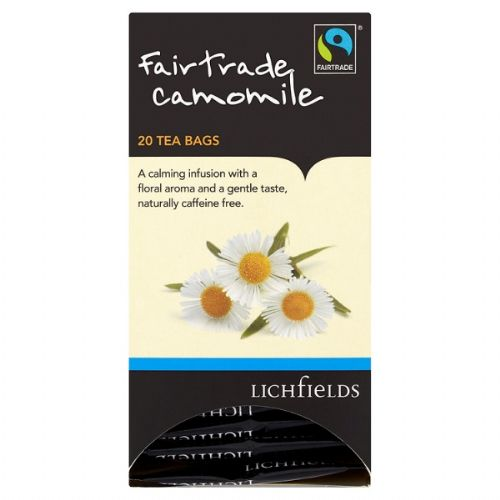 FAIRTRADE - Lichfields Camomile teabags - bulk portions sachets online
